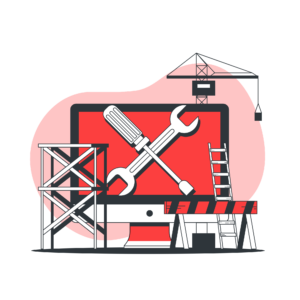 webサイト修正とカスタマイズのイメージ画像